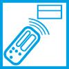Infraraudonųjų spindulių nuotolinio valdymo pultelis